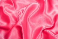 Rosafarbener Satin Stockbild
