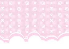 Rosafarbener Schätzchenhintergrund Stockbilder