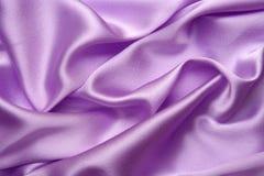 Rosafarbener silk Hintergrund Stockbild