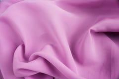 Rosafarbener silk Satin Lizenzfreies Stockbild