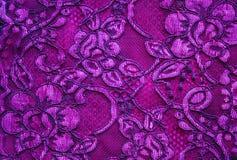 Rosafarbener Spitzehintergrund Stockbilder