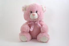 Rosafarbener Teddybär lizenzfreie stockbilder