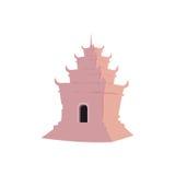 Rosafarbener Tempel Lizenzfreie Stockfotos