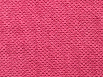 Rosafarbener Tuchhintergrund Stockfoto