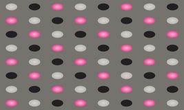 Rosafarbener u. grauer Kreishintergrund Lizenzfreies Stockfoto