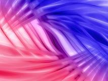 Rosafarbener und blauer Hintergrund vektor abbildung
