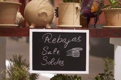 Rosafarbener und gelber Verkauf Stockbilder