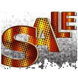 Rosafarbener und gelber Verkauf Lizenzfreie Stockfotografie