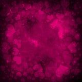 Rosafarbener Valentinsgrußhintergrund lizenzfreie abbildung