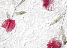 Rosafarbenes Blumenblattpapier Lizenzfreie Stockfotos