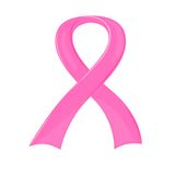 Rosafarbenes Brustkrebs-Bewusstseins-Farbband Stockbild