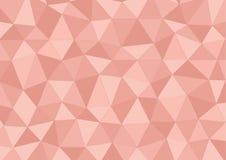 Rosafarbenes Dreieck Stockbild