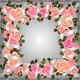 rosafarbenes Feld vektor abbildung