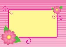 Rosafarbenes Feld Lizenzfreie Stockbilder