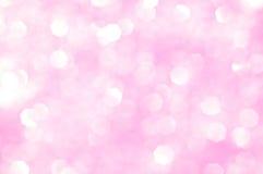 Rosafarbenes Funkeln - Valentinsgrußtageshintergrund Lizenzfreies Stockfoto