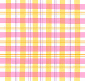 Rosafarbenes Gingham-Plaid Stockbilder