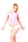 Rosafarbenes Hemd Stockfoto