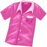 Rosafarbenes Hemd stock abbildung