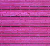 Rosafarbenes Holz Stockfoto