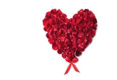 Rosafarbenes Inneres des Valentinstags lizenzfreies stockbild
