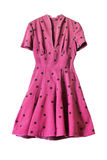 Rosafarbenes Kleid Stockbild