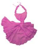 Rosafarbenes Kleid stockbilder