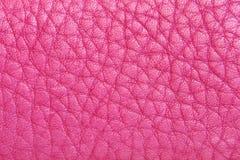 Rosafarbenes Leder Stockbilder