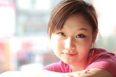 Rosafarbenes Mädchen Lizenzfreie Stockfotografie