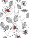 Rosafarbenes Muster des Auszuges Stockbilder