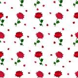 Rosafarbenes Muster des Rotes Stockfotos