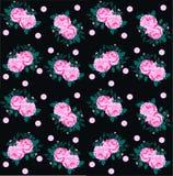 rosafarbenes Muster nahtlos Lizenzfreies Stockbild