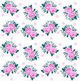 rosafarbenes Muster nahtlos Lizenzfreie Stockbilder