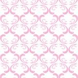 Rosafarbenes nahtloses Muster Stockbilder