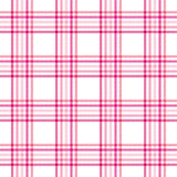 Rosafarbenes Plaid Stockbild