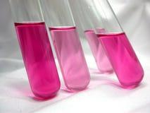 Rosafarbenes tubes-3 Stockfotos