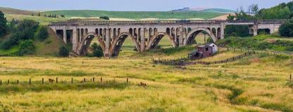 Rosalia Railroad Bridge Fotos de archivo