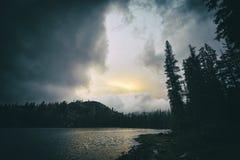 Rosalie jezioro, Kalifornia Obrazy Royalty Free