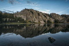 Rosalie Lake, California Royalty Free Stock Photo