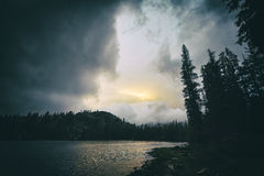 Rosalie Lake, California Royalty Free Stock Images