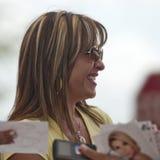 rosana tv репортера актрисы franco Стоковое Изображение RF