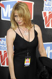 Rosanna Arquette on the red carpet. Royalty Free Stock Images