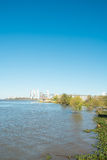 Rosario. On the bank of Parana river, Argentina Royalty Free Stock Images