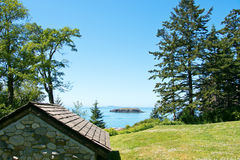 Rosario Beach and Northwest Island. In Anacortes, Washington, USA Royalty Free Stock Image