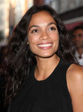 Rosario Dawson. Arriving for the launch night of 'Julius Caesar' at the Noel Coward Theatre, London. 15/08/2012 Picture by: Alexandra Glen / Featureflash Royalty Free Stock Images