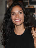 Rosario Dawson. Arriving for the launch night of 'Julius Caesar' at the Noel Coward Theatre, London. 15/08/2012 Picture by: Alexandra Glen / Featureflash Royalty Free Stock Photos