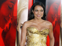 Rosario Dawson. At the Los Angeles premiere of `Unforgettable` held at the TCL Chinese Theatre in Hollywood, USA on April 18, 2017 stock photos