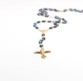 Rosario del crucifijo Foto de archivo libre de regalías