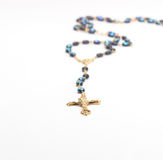 Rosario della croce Fotografia Stock Libera da Diritti
