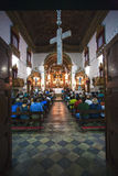 Rosario dos pretos church in salvador of bahia Royalty Free Stock Photos