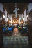 Rosario DOS-pretos kyrktar i Salvador av bahia Royaltyfria Foton